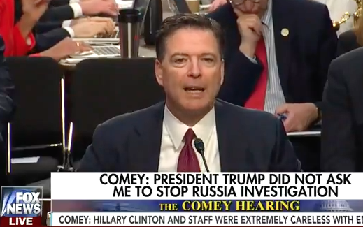 Trump punches back, accuses Comey of lying to Congress