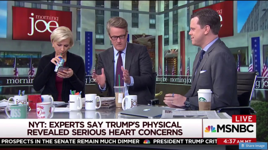 MORNING JOE MELTDOWN: Scarborough Calls White House Doctor a 'POLITICAL HACK'